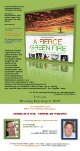Fierce Green Film Feb 2