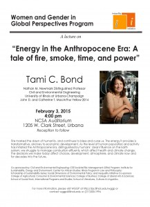 Tami Bond Lecture Feb 3 2015